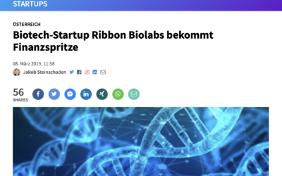 Article about Ribbon Biolabs in Trending Topics (in German)