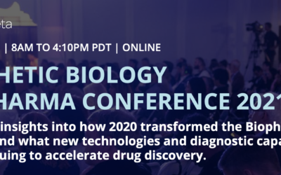 Meet us at SynBioBeta BioPharma!